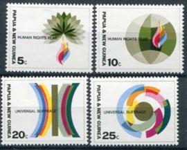 Papua N.Guinea, michel 135/38,xx