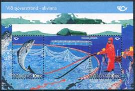 Faroer, michel blok 26, xx