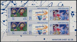 N.Zeeland, michel kb 968/70, xx