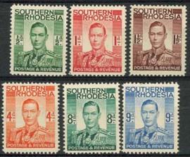 S.Rhodesie, uit michel 42/48, x