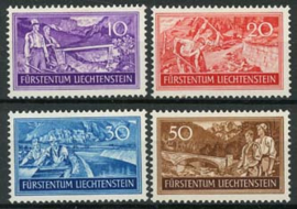Liechtenstein, michel 152/55, x