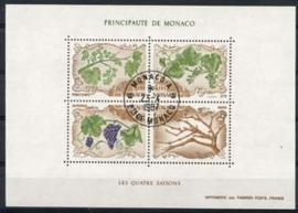 Monaco , michel blok 36 , o