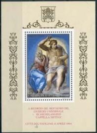 Vaticaan, michel blok 14, xx