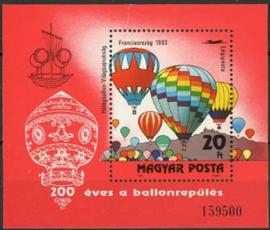 Hongarije, michel blok 162 A, xx