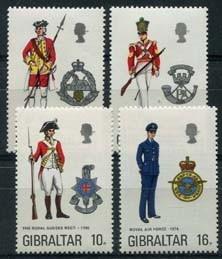 Gibraltar, michel 313/16, xx