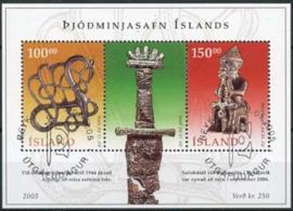 IJsland, michel blok 37, o