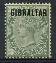 Gibraltar , michel 1 , x