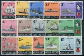 Gibraltar, michel 188/01, xx