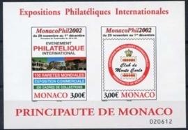 Monaco , michel blok 85 , xx