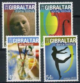 Gibraltar, michel 1032/35, xx