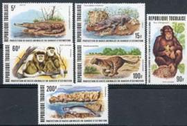 Togo, michel 1235/40, xx