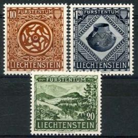 Liechtenstein, michel 319/21, xx