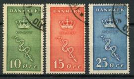 Denemarken, michel 177/79, o