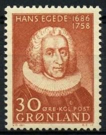Groenland, michel 42, xx