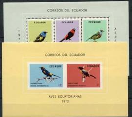 Ecuador, michel blok 63/64, xx
