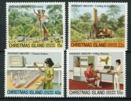 Christmas Isl., michel 124/27, xx