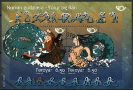 Faroer, michel blok 16, o