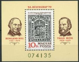 Hongarije, michel blok 138 A, xx