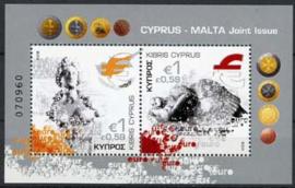 Cyprus, michel blok 28, xx