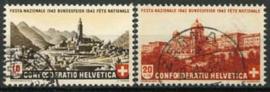 Zwitserland, michel 420/21, o