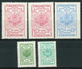 Uzbekistan, michel 102/06, xx