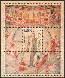 Slowakije, michel blok 29, xx