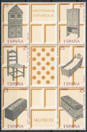 Spanje, michel 3001/06, xx