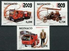 Monaco, michel 2916/18, xx