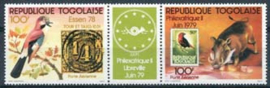 Togo, michel 1322/23, xx