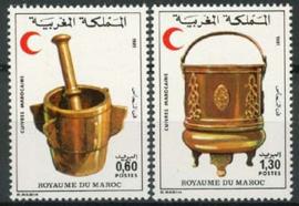 Marokko, michel 965/66, xx