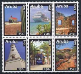 Aruba, nvph 848/53, xx