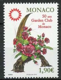 Monaco, bloemen 2018