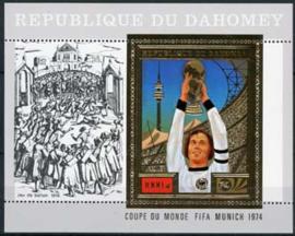 Dahomey, michel blok 55 A, xx