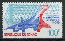 Tchad, michel 795, xx