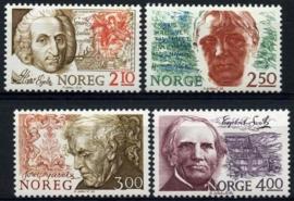 Noorwegen, michel 954/57, xx