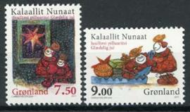 Groenland, michel 597/98, xx