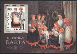 Letland, michel blok 7, xx