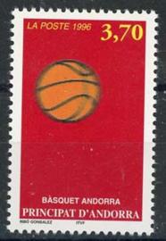 Andorra Fr., michel 489, xx