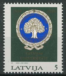Letland, michel 375, xx