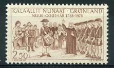 Groenland , michel 110 , xx