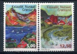 Groenland, michel 657/58, xx