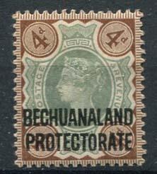 Bechuanaland, michel 50, x