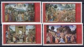 Vaticaan, michel 1362/65, xx