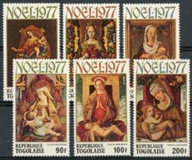 Togo, michel 1260/65, xx
