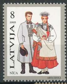 Letland, michel 407 , xx