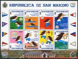 S.Marino, michel kb 1958/65, xx