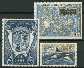 Antarctica Fr., michel 52/54, xx