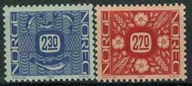 Noorwegen, michel 963/64, xx