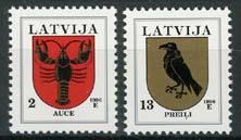 Letland, michel 421/22, xx