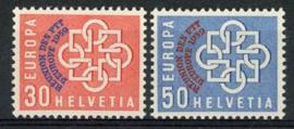 Zwitserland, michel 681/82, xx
